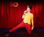 Headliner Russell Kane enters the spotlight.