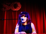 Vikki Stone sings one of her funny (and disturbing) songs.