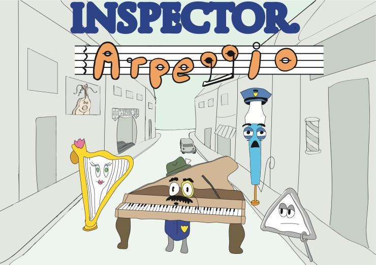 Inspector Arpeggio Rough Poster