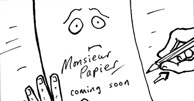 Monsieur Papier by Andy Wooding