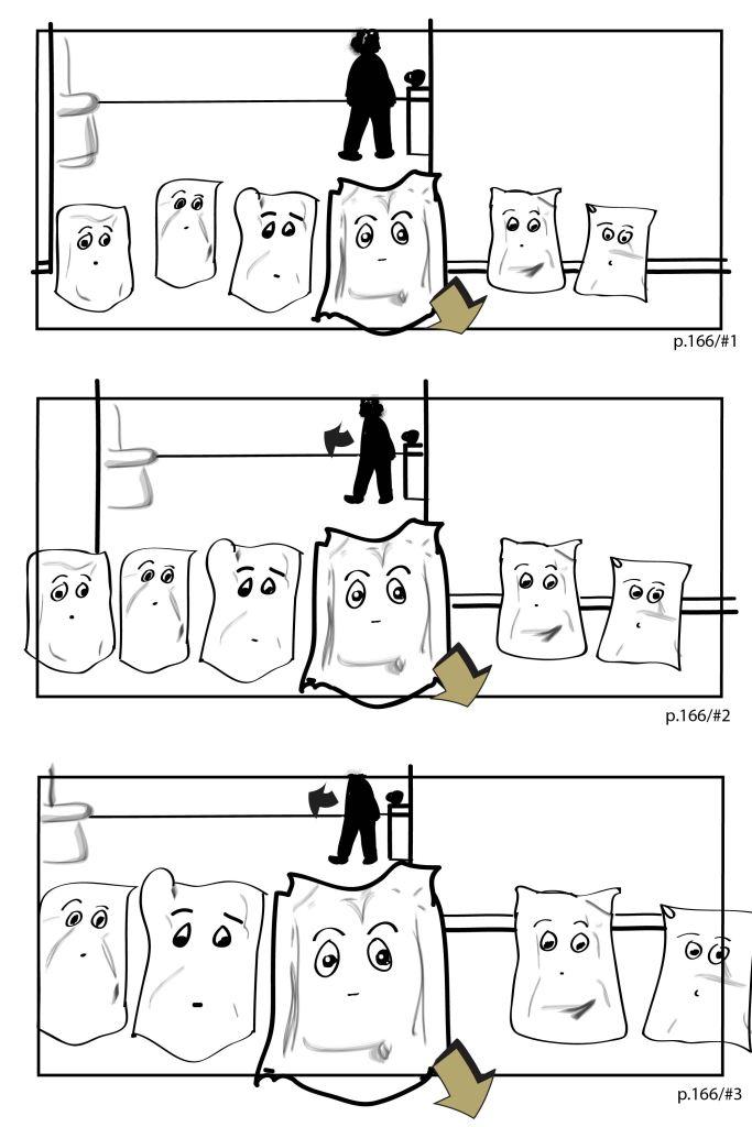 Monsieur Papier - storyboard