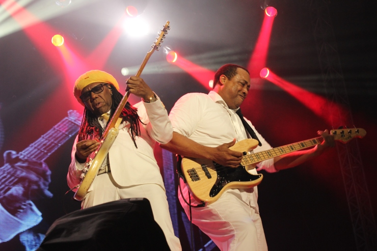 Niles Rogers at Bestival 2014 - Andy Wooding
