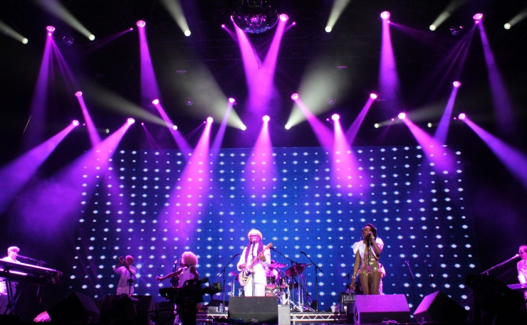 Niles Rogers and Chic at Bestival 2014 - Andy Wooding