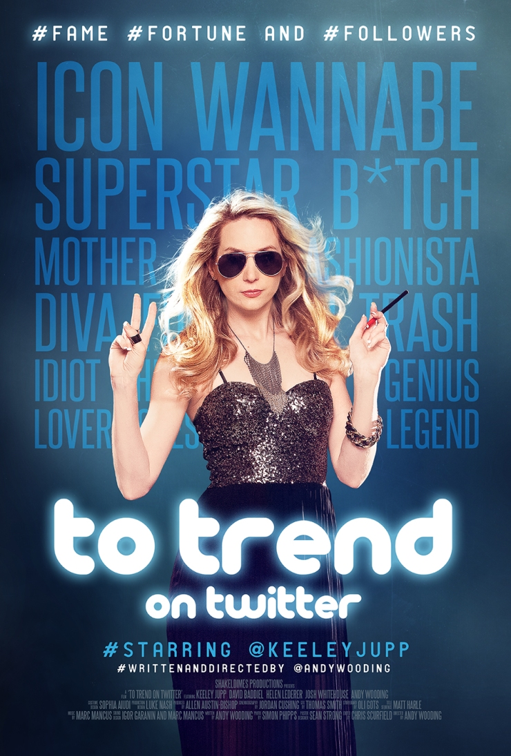 To Trend on Twitter film poster Andy Wooding